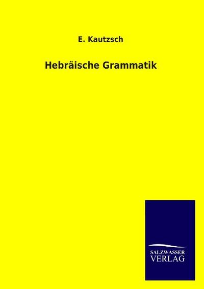 Hebräische Grammatik