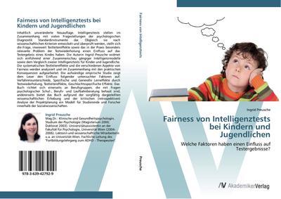 Fairness von Intelligenztests bei Kindern und Jugendlichen