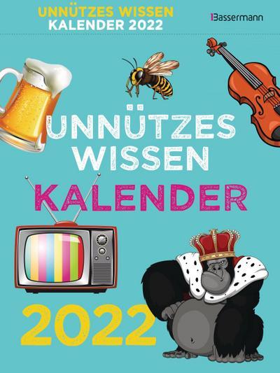 Unnützes Wissen Kalender 2022. Der beliebte, aber überflüssige Tagesabreißkalender