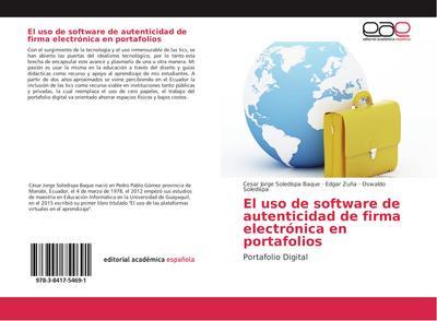 El uso de software de autenticidad de firma electrónica en portafolios