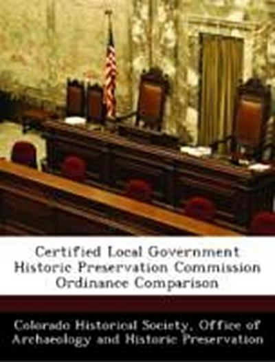 Colorado Historical Society, O: Certified Local Government H