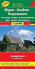 Rügen - Usedom - Vorpommern 1 : 150 000