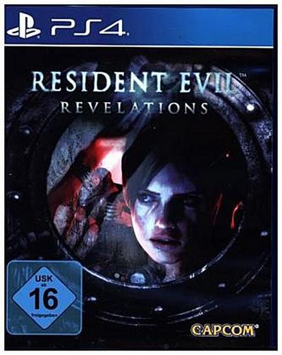 Resident Evil Revelations, 1 PS4-Blu-Ray-Disc