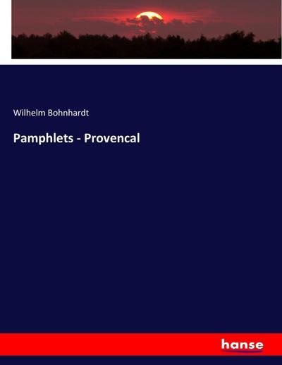 Pamphlets - Provencal