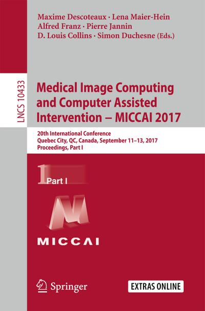 Medical Image Computing and Computer-Assisted Intervention - MICCAI 2017