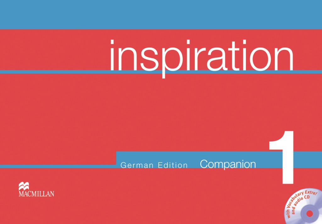 Inspiration. Level 1. Workbook + Companion + CD Judy Garton-Sprenger