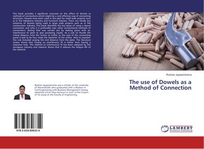 The use of Dowels as a Method of Connection