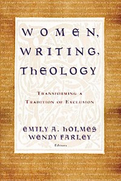 Women, Writing, Theology