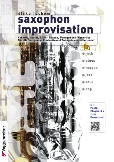 Saxophon Improvisation. Inkl. CD