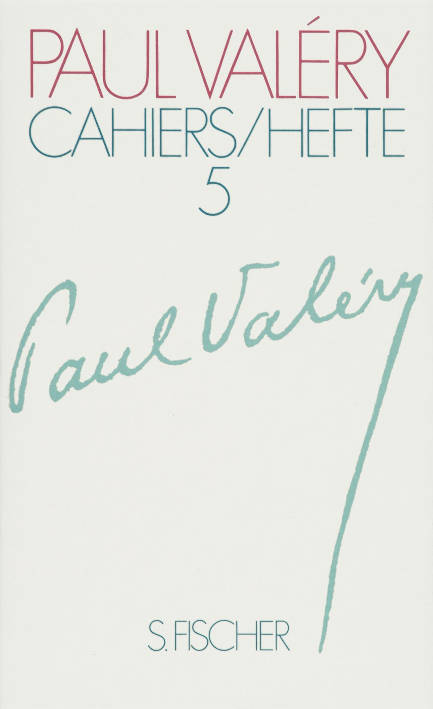 Paul Valery ~ Cahiers. Eros / Bios / Mathematik / Wissenschaft ... 9783100870155
