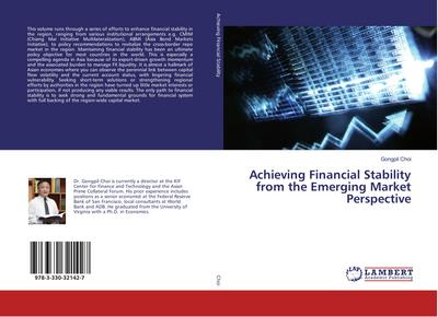 Achieving Financial Stability from the Emerging Market Perspective