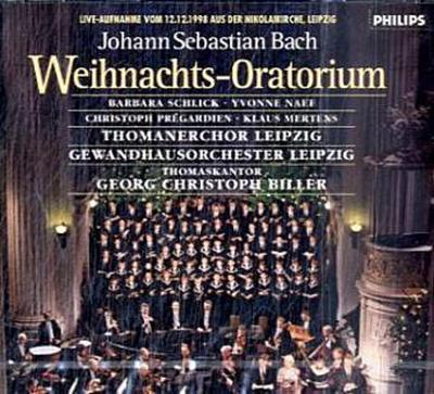 Weihnachts-Oratorium, 2 Audio-CDs