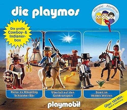 Die Playmos - Die große Cowboy- und Indianerbox, Nicolás Artajo
