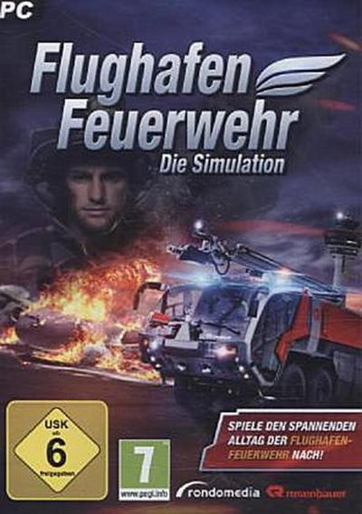 Flughafen Feuerwehr, Die Simulation, 1 DVD-ROM