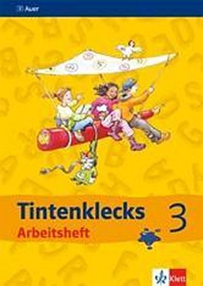 Tintenklecks - Das Deutschbuch. Neubearbeitung. Arbeitsheft 3 + DIN A 5 Rechtschreibtrainingsheft. Ausgabe für Bremen, Hamburg, Niedersachsen, Nordrhein-Westfalen, Schleswig-Holstein