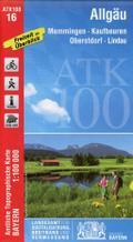 Allgäu 1:100 000