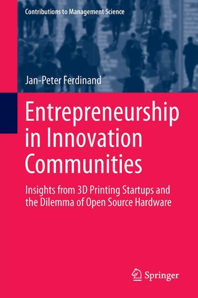 Entrepreneurship in Innovation Communities