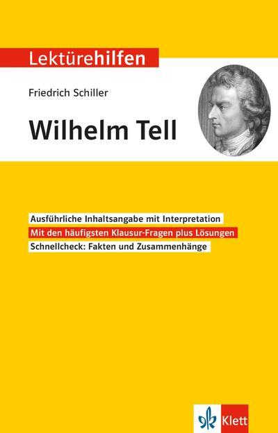 """Lektürehilfen Friedrich Schiller """"Wilhelm Tell"""""""