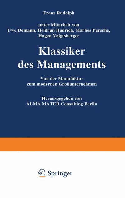 Klassiker des Managements
