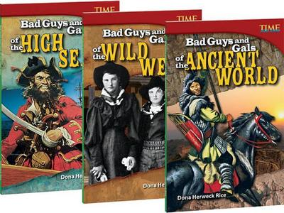 Bad Guys and Gals 3-Book Bundle