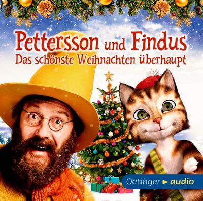 Pettersson und Findus - Das schönste Weihnachten überhaupt (CD); Das Original-Hörspiel zum Kinofilm; Deutsch; Bitte diese Informationen aufbewahren. Achtung! Nicht für Kinder unter 36 Monaten geeignet. Kleinteile. Verschluckungs- und Erstickungsgefahr.