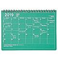 MARK'S 2019 Tischkalender S Green