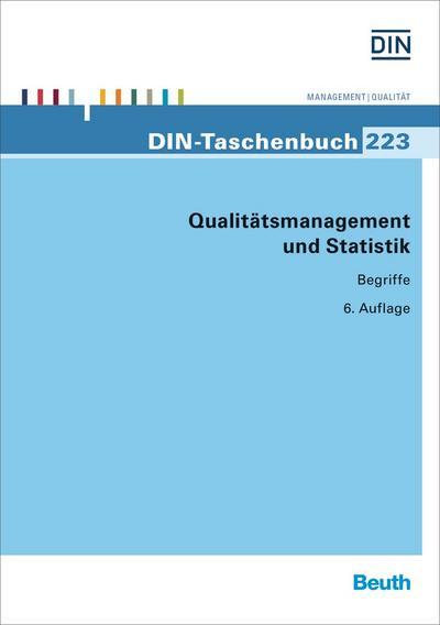 Qualitätsmanagement und Statistik: Begriffe (DIN-Taschenbuch)