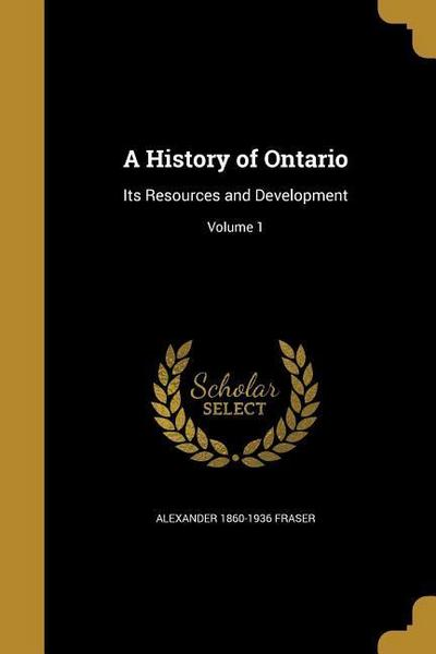 HIST OF ONTARIO