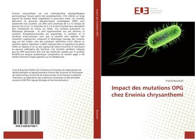 Impact des mutations OPG chez Erwinia chrysanthemi