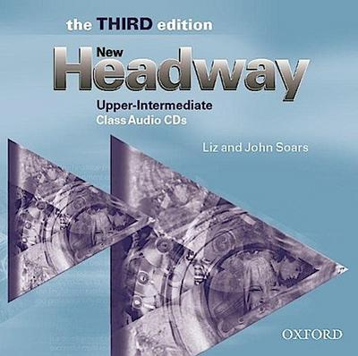 New Headway English Course.  Upper-Intermediate. Class CDs zum Student's Book