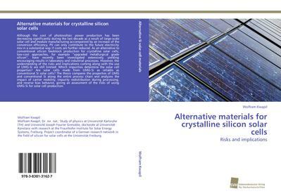 Alternative materials for crystalline silicon solar cells