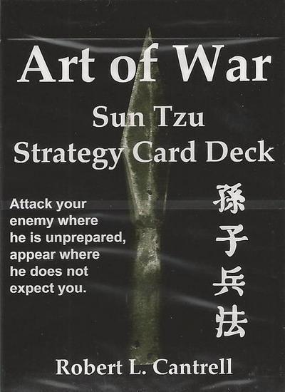Art of War: Sun Tzu Strategy Card Deck: 54 Winning Strategies