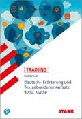 Training Deutsch. Erörterung und Textgebundener Aufsatz 9./10. Klasse Realschule