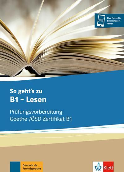 So geht's zu B1 - Lesen. Übungsbuch