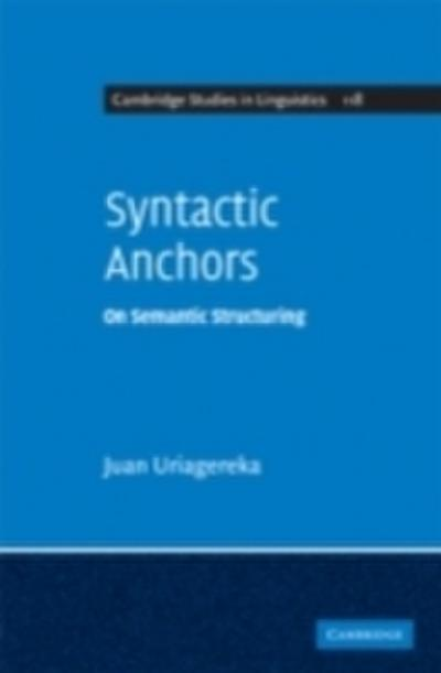 Syntactic Anchors