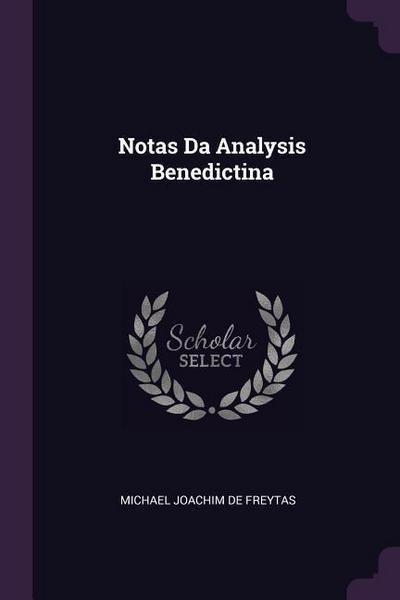 Notas Da Analysis Benedictina