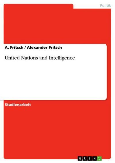United Nations and Intelligence