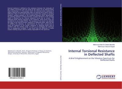 Internal Torsional Resistance in Deflected Shafts