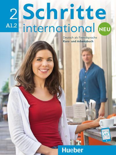 Schritte international Neu 2. Kursbuch + Arbeitsbuch + CD zum Arbeitsbuch
