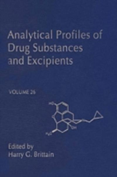Analytical Profiles of Drug Substances and Excipients