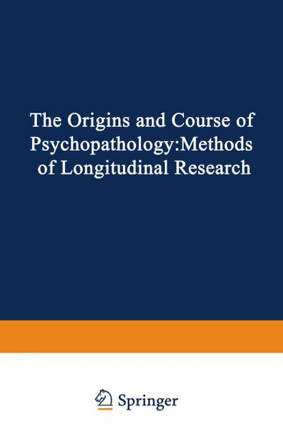Origins and Course of Psychopathology