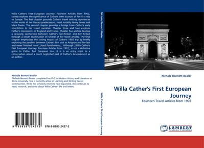 Willa Cather's First European Journey