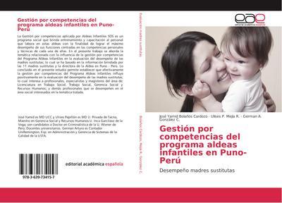 Gestión por competencias del programa aldeas infantiles en Puno-Perú
