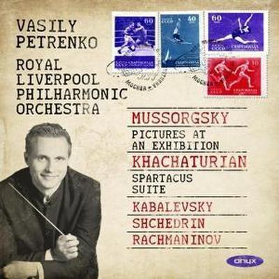 Vasily Petrenko spielt Werke von Mussorgsky, Khachaturian u.a.