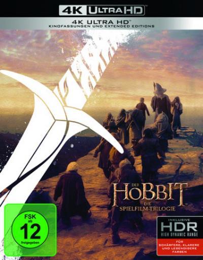 Der Hobbit: Die Spielfilm Trilogie 4K, 6 UHD-Blu-ray