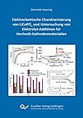 Elektrochemische Charakterisierung von LiCoPO4 und Untersuchung von Elektrolyt-Additiven für Hochvolt-Kathodenmaterialien