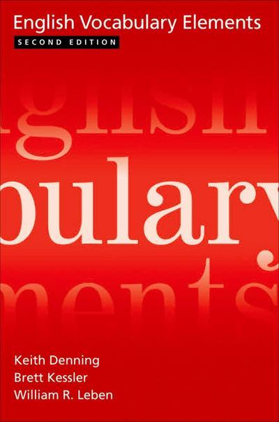 English Vocabulary Elements