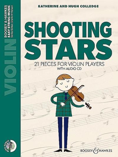 Shooting Stars (+CD)for violin