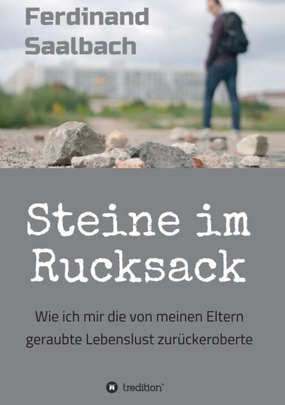 Steine im Rucksack