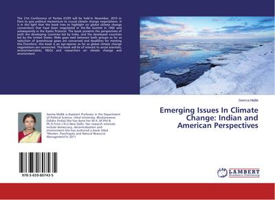 Emerging Issues In Climate Change: Indian and American Perspectives